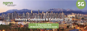 NGMN Industrial Conference @ JW Marriott Parq | Vancouver | British Columbia | Canada