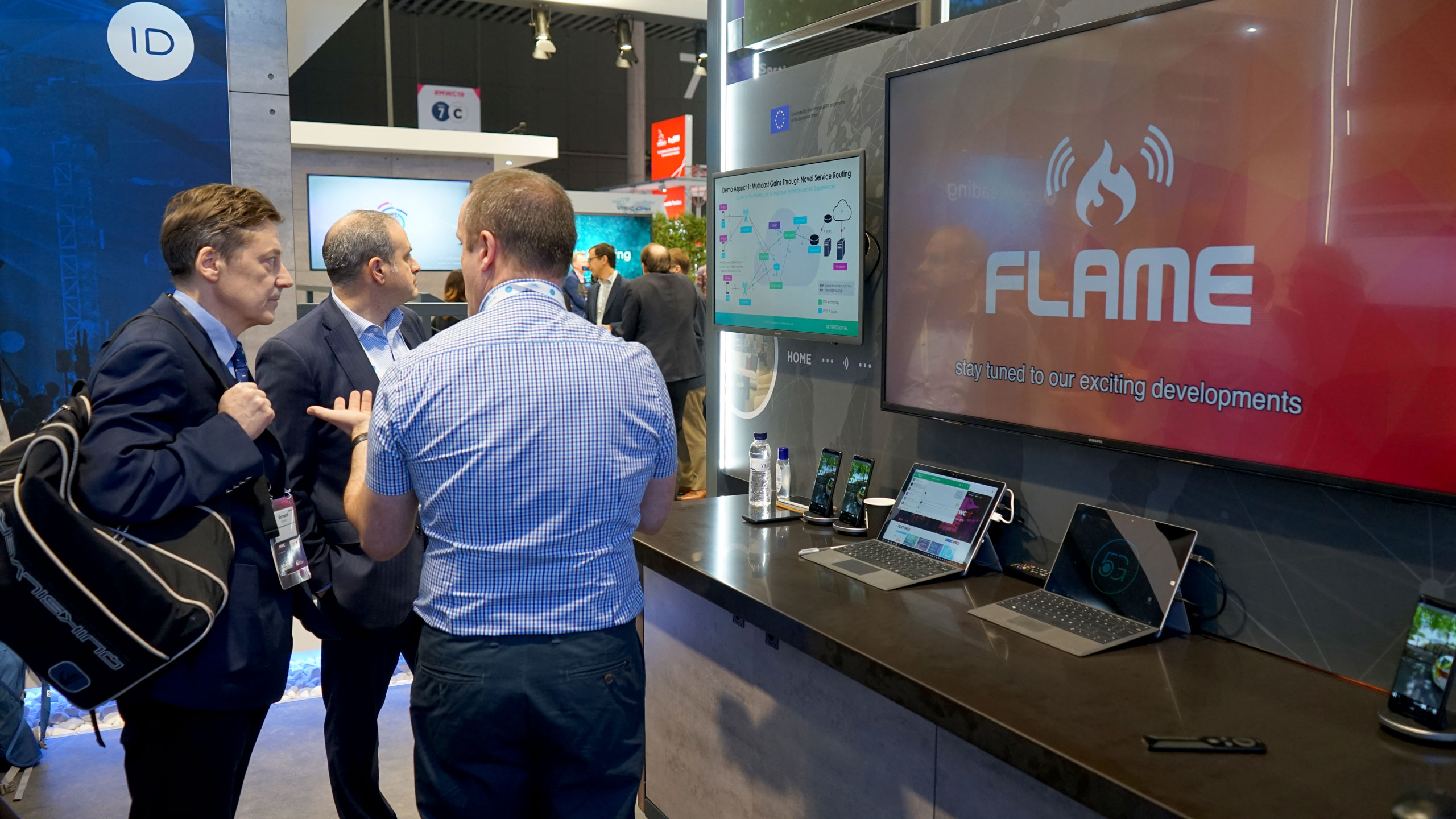 The FLAME video at MWC